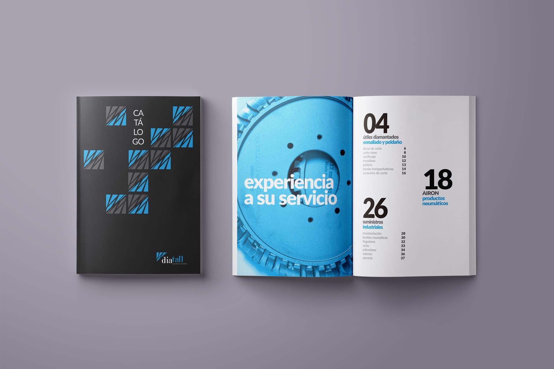 diseño gráfico catálogo